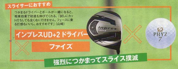 ゴルフボールとドライバーの相性 ファイズ