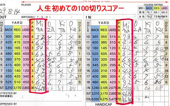 ライザップゴルフ 体験記 100切り